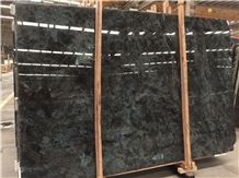 Labradorite Blue Granite Tile & Slab, Labradorite Bianca, Ice Blue Granite, Precious Stone