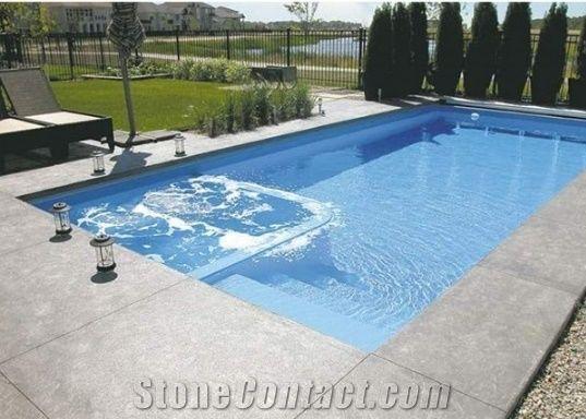 Swimming Pool Coping Stones, Grey Granite Swimming Pool ...