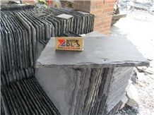 Fish Scale Slate Stone Coated Roof Tiles Prices in Dark Grey, Black Color Slate Tile & Slab
