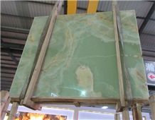 Luxury Onice Verde Persiano Onyx Slab Price