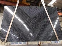 Black Wood Vein Marble,Rosewood Grain Black Marble,Wooden Black Marble,Black Forest Marble Antique Wood Slab Polished for High Quality