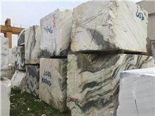 Panda White Block Dalmata Marble Block