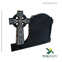 Absolute Black Granite Celtic Cross