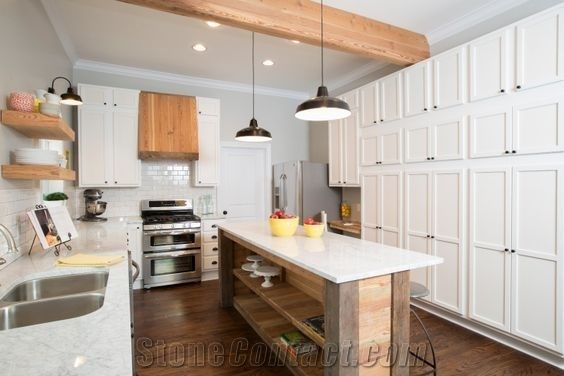Artificial Quartz Stone For Prefab Countertops Your First Kitchen