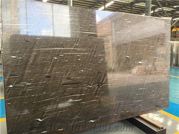 Brown Silk Granite Tile Slab Beauty Musk Quartzite Brown