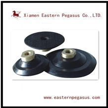 New Polishing Pad Rubber Backer, Rubber Connector, Stone Tools for Sale, Easy Operating Backer with Good Quality, Granite Polishing Pad Supporter, Stone Factory Materials for Polishing Machines