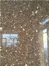 Loulan Brown Granite,China Brown Granite