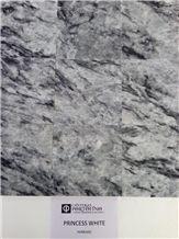 Coahuila Princess White Marble Polished Tiles