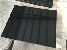 China Black Granite a Grade Countertop Polished