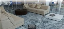 Tiger Skin Marble Tiles & Slabs, Polished Grey Marble Floor Tiles, Wall Covering Tiles