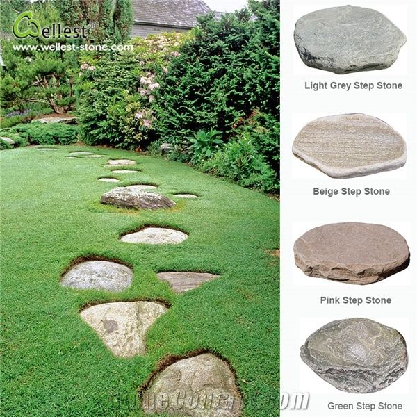 Natural Slate Garden Stepping Stone