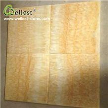 China Natural Beige Color Honed Finished Onyx Tile & Slab