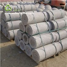 Factory Manufacture Natural Grey New Granite Parking Curbs for Stopping Car