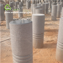 High Quality Best Price China Granite Parking Stone, Street Barriers for Stopping Car