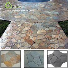 Wholesale Factory Best Price Rusty Slate Flagstone Pavers Garden Stone