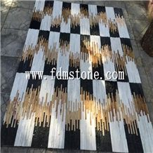Hebei Black and White Slate Mixed Quartzite Culture Stone,Wall Cladding