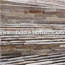 Pink Quartizite Stacked Stone,Ledge Pannel,Wanaka Schist Exterior Features