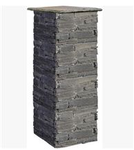 Yellow Slate Cement Pillars Cement Pillars Design Cement Stone Gate