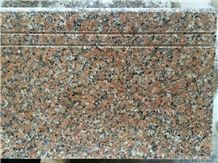 G561 Granite / Maple Red Steps and Stairs