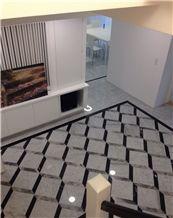 Bianco Carrara Silver Mink Nero Marqiua 3d Marble Floor Thin Tile Flooring