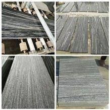 Nero Santiago Granite,Fantasy Grey Wood Vein Granite Slabs Multicolor Grey Granite G302 Slab Tiles