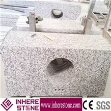 China Bianco Sardo, Big Flower White, Big White Flower Granite Countertop, Granite Bathroom Countertop, G439 Granite, Barry Blue Granite, Big White Flower Granite, China Grey Granite Vanity Top