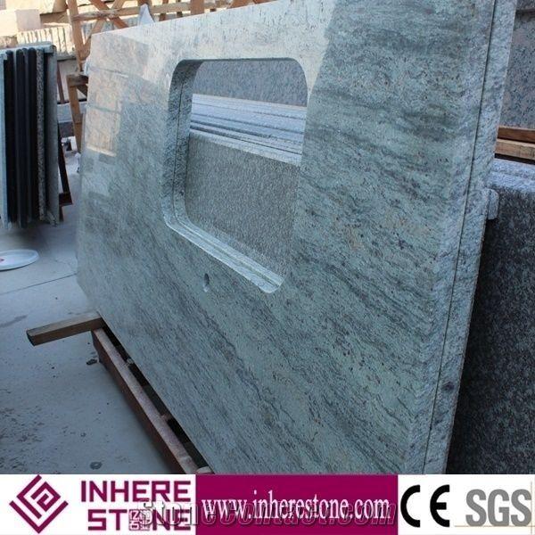 River White Granite Bathroom: China New Stone River Valley White Granite For Countertops