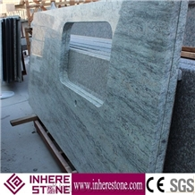 China New Stone River Valley White Granite for Countertops