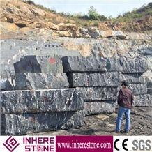 China Snow Grey Granite Blocks for Landscaping Stone,Via Lactea Granite,,Mist Black Via Lactea,China Jet Mist Granite,River Black Granite