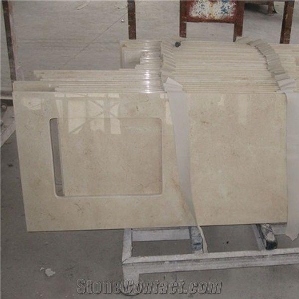 Hot Crema Marfil Marble Kitchen Countertop