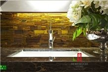 Agate Slices Wholesale, Agate Countertop for Bathroom Desing, Agate Stone
