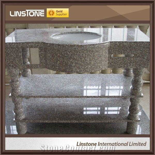 Cheap price china supplier g664 grey granite bathroom - Discount granite bathroom vanity tops ...