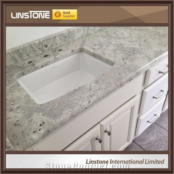 manufacture prefab double sink river white granite bathroon vanity top for sale from china. Black Bedroom Furniture Sets. Home Design Ideas