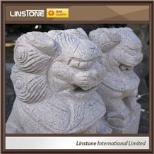 New Style Cheap Price Home Garden Ganesha Lion Statues Wholesale