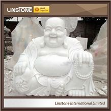 Western New Style White Marble Antique Marble Buddha Statues for Sale