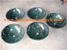 Green Marble Wash Basin