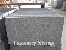 Bush Hammered Sesame Black Granite G654 Padang Dark Grey Granite Tile