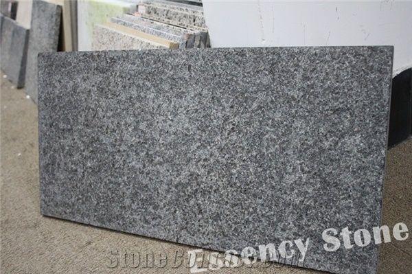 Flamed Black Galaxy Granite Floor Tile 300x600x20mmgold Star Galaxy