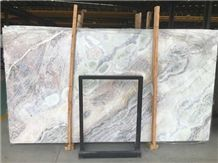 White Color Marble Slab - Dream White, China White Marble