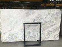White Color Marble Slabs - Dream White