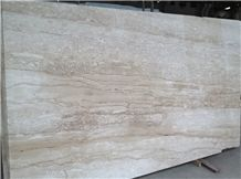 Turkey Dilno Turkish Dino Beige Marble Polished Slabs, Tiles for Wall Covering, Stair, Skirting, Cladding, Cut-To-Size for Floor Covering, Interior Decoration, Wholesaler
