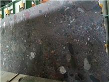 Aquarius (Blue Marinace) Leather Face Granite Slabs & Tiles, Blue Acquarius Granite Slabs & Tiles