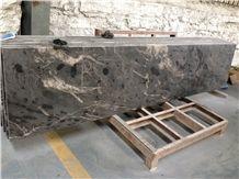 Space Black Granite Kitchen Countertops