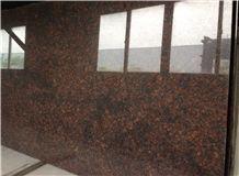 Tan Brown India Granite Brown Slabs Stone Tiles