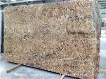 Zeus Gold Brazil Granite Yellow Slabs Stone Tiles