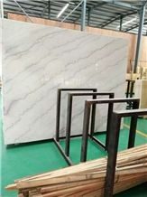China White Marble Polished Slabs & Tiles