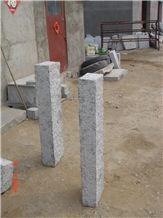 G341 China Grey Granite Split Cleft Natural Surface Palisade Pillar