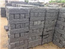 G685, Zhangpu Black,Black Basalt, Cleft Natural Split Basalt,Flamed Black Basalt Palisade