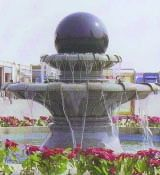 Garden Landscaping Natural Stone Fountain Floating Ball