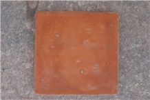 Hand Made Terracotta Tiles Yellow Brown Red